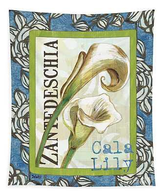 Lazy Daisy Lily 1 Tapestry
