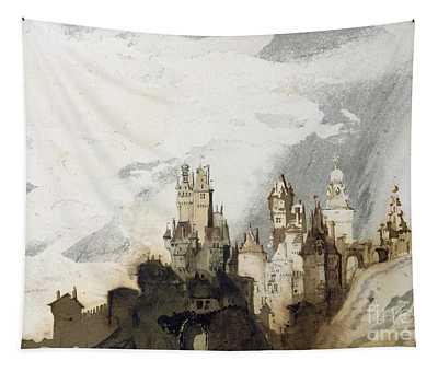 Le Gai Chateau Tapestry