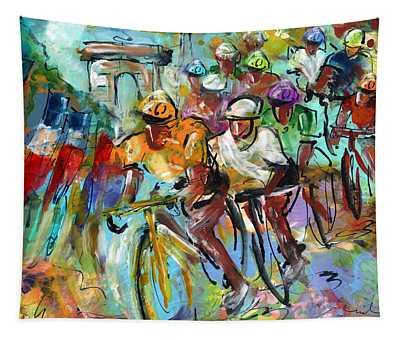 Le Tour De France Madness 02 Tapestry