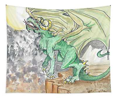 Leaping Dragon Tapestry