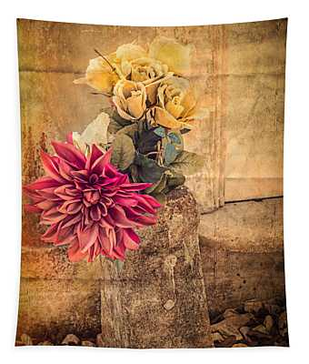 Left For A Loved One Tapestry