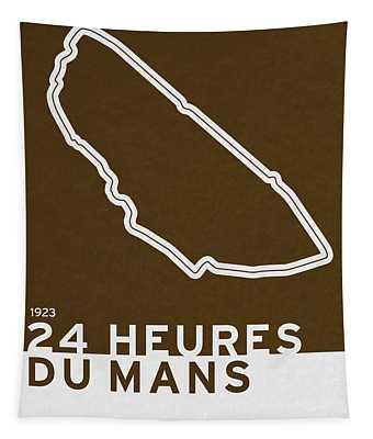 Legendary Races - 1923 24 Heures Du Mans Tapestry