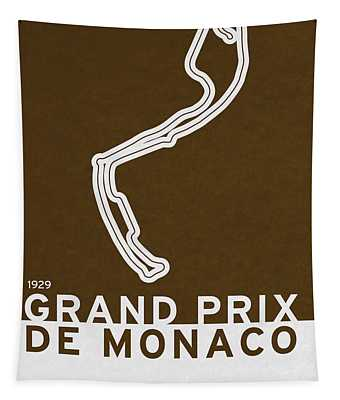 Legendary Races - 1929 Grand Prix De Monaco Tapestry