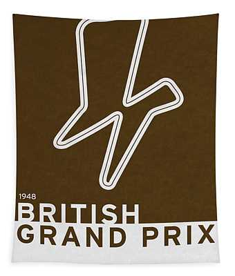 Legendary Races - 1948 British Grand Prix Tapestry