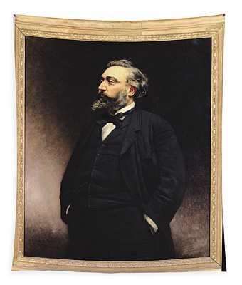 Leon Gambetta 1838-82 Oil On Canvas Tapestry