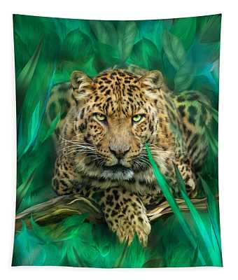 Leopard - Spirit Of Empowerment Tapestry