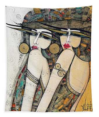 Les Demoiselles Tapestry