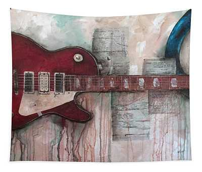 Les Paul Number 5 Tapestry