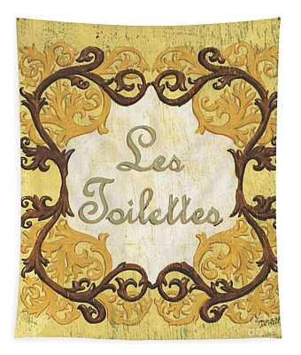 Les Toilettes Tapestry