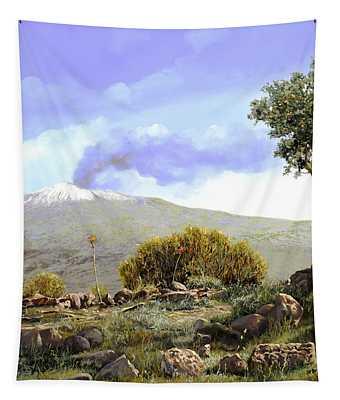 l'Etna  Tapestry
