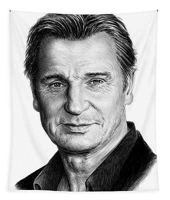Liam Neeson Tapestry
