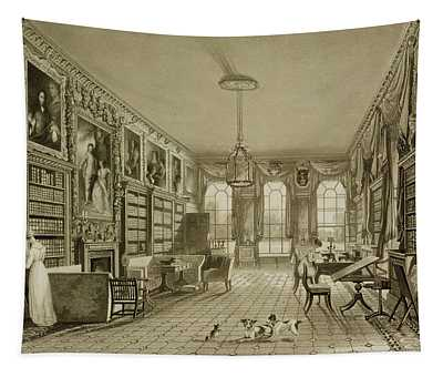 Library As Sitting Room, Cassiobury Tapestry