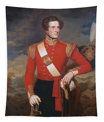 Lieutenant Robert Hay C.1838 Tapestry