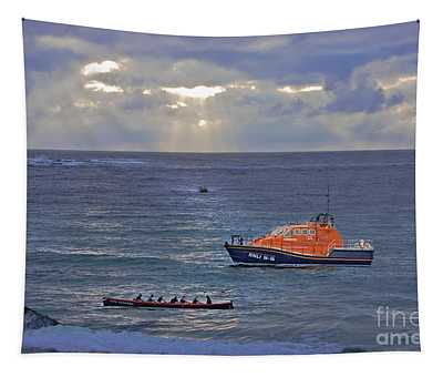 Lifeboats And A Gig Tapestry