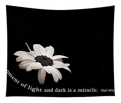 Light And Dark Inspirational Tapestry