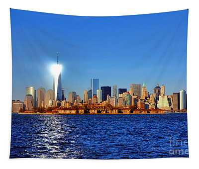 Lighthouse Manhattan Tapestry