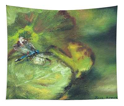 Lily Pads Tapestry