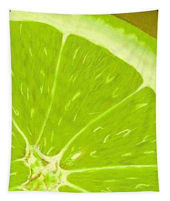 Lime Tapestry
