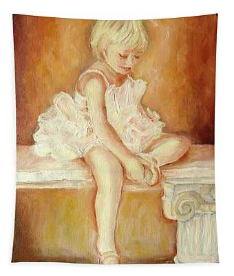 Little Ballerina Tapestry