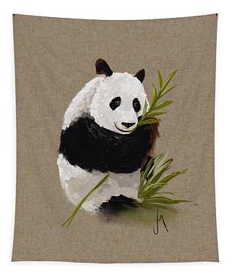 Little Panda Tapestry