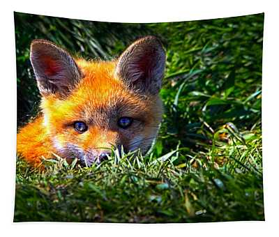 Little Red Fox Tapestry