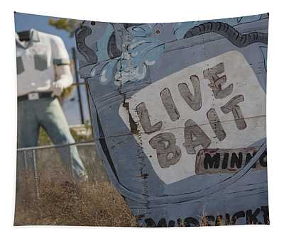 Live Bait And The Man Tapestry