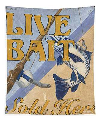 Live Bait Tapestry