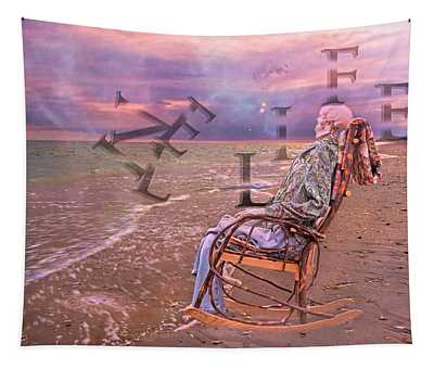 Live Life Tapestry