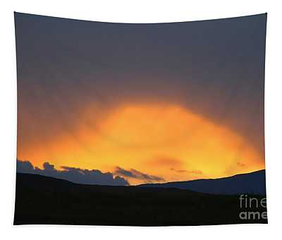 Livingstone Range Sunset Tapestry