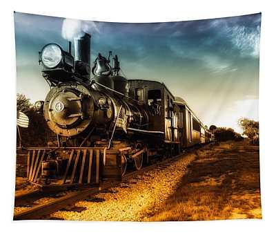 Locomotive Number 4 Tapestry