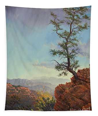 Lone Tree Struggle Tapestry