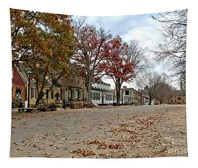 Lonely Colonial Williamsburg Tapestry