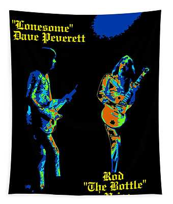 Lonesome Dave And Bottle Rod Tapestry
