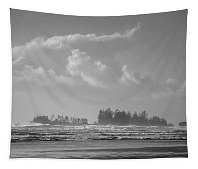Long Beach Landscape  Tapestry