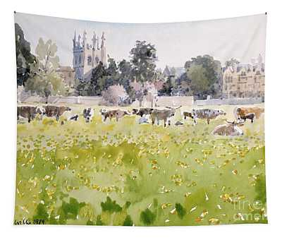 Looking Across Christ Church Meadows Tapestry