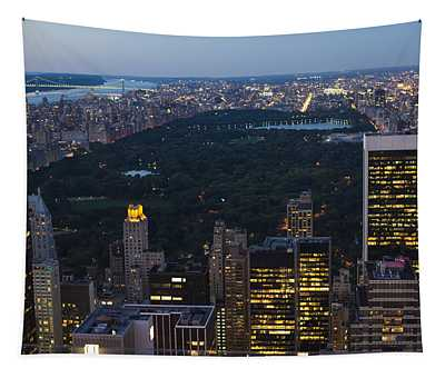 Looking From Top Of The Rock Tapestry
