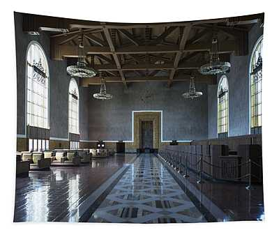 Los Angeles Union Station Original Ticket Lobby Tapestry