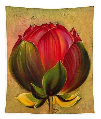 Lotus Bulb Tapestry