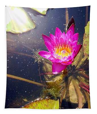 Lotus Day Tapestry