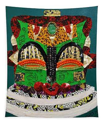 Lotus Warrior Tapestry