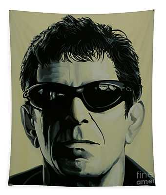 Lou Reed Painting Tapestry