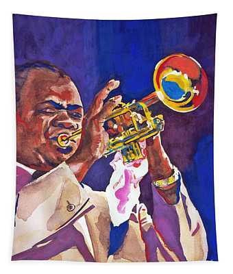 Louis Satchmo Armstrong Tapestry