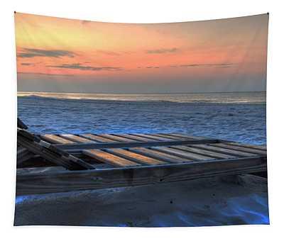 Lounge Closeup On Beach ... Tapestry