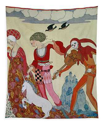 Love Desire And Death Tapestry
