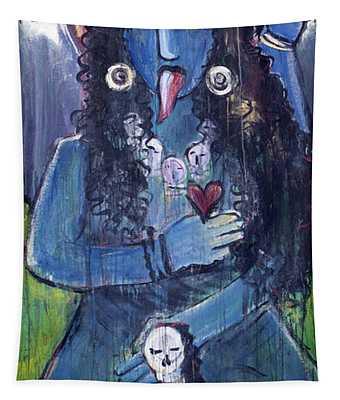 Love For Kali Tapestry