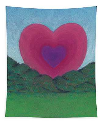 Love Rising Tapestry