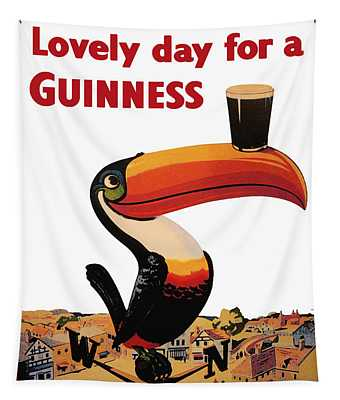 Lovely Day For A Guinness Tapestry