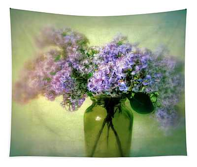 Tapestry featuring the photograph Lovely Lilac  by Jessica Jenney