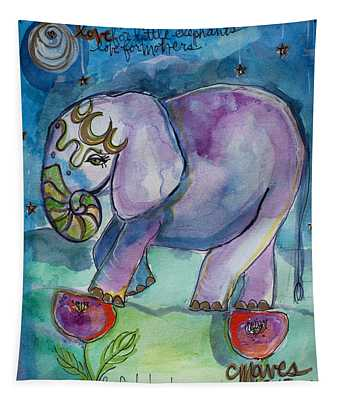Lovely Little Elephant2 Tapestry