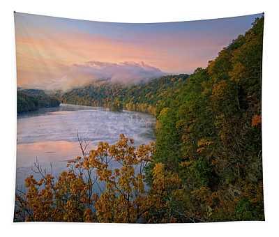 Lovers Leap Sunrise Tapestry